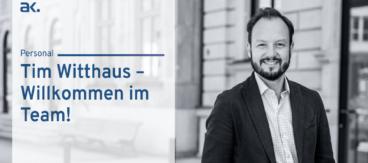 +++ Tim Witthaus wechselt von Berenberg zu Albrecht, Kitta & Co. +++